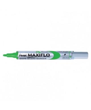 Rotulador pizarra Maxiflo verde- PENTEL - MWL5SVD