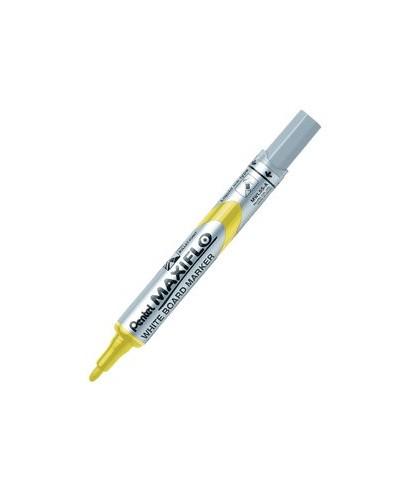 Rotulador pizarra Maxiflo amarillo- PENTEL - MWL5S G