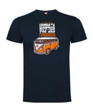 Camiseta Hipoteca reg marino S RZ