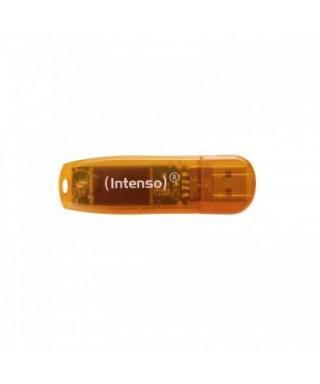 Memoria USB 2.0 64GB Rainbow Line Naranja - 2270592