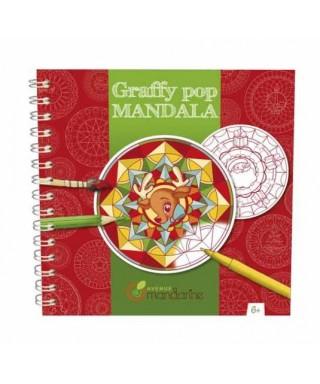 Cuaderno Graffy Pop Mandalas, Navidad