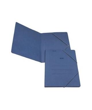 Carpeta carton Fº sin solapa con goma