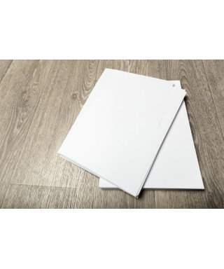Papel A4 blanco. - 90gr. Paquete de 100 hojas.