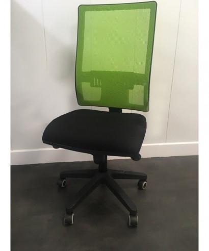 Silla giratoria Passion Verde/negro