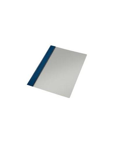 Dossier fastener Fº azul con tarjetero