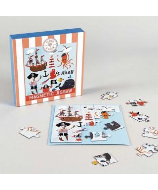 Puzzle magnético pirata 25 piezas