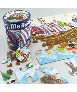 Puzzle piratas 24 piezas