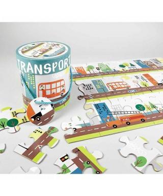 Puzzle transporte, 48 piezas