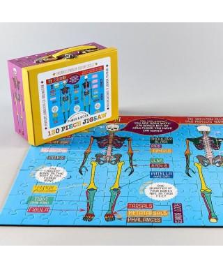 Puzzle esqueleto (130 piezas)