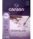Bloc de dibujo encolado Canson imagine