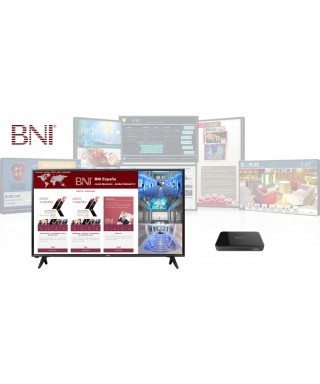 KIT CARTELERIA DIGITAL SD/BNI + PANTALLA LED 32""