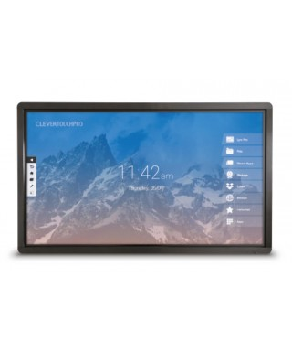 "MONITOR CLEVERTOUCH PRO LUX DUAL SLOT 75"" 4K"