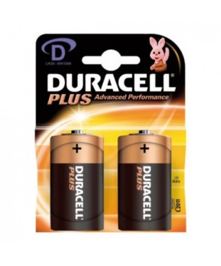 Pila LR-20 D Plus Power- DURACELL -