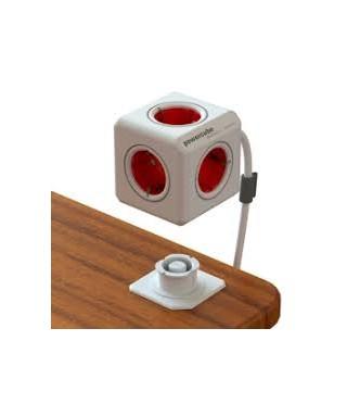 Ladrón con alargador power cube rojo
