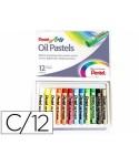 Caja de 12 oil pastel de colores