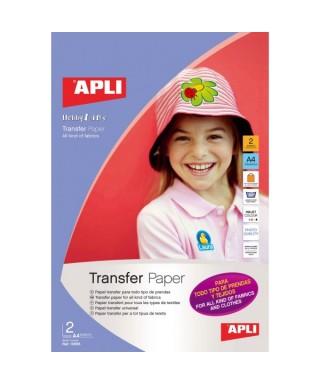 2h papel transfer para tejidos  A4