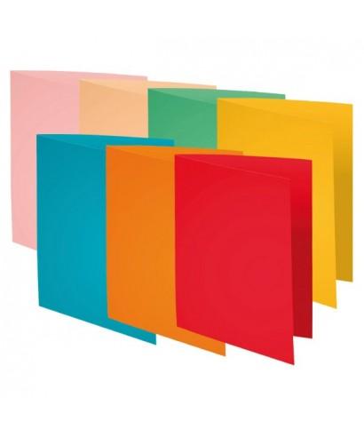 Subcarpeta Foldyne 80grs colores surtidos A4 EXACLAIR - 420000E