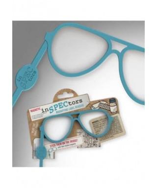 Gafas lupa magnéticas azul