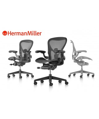 Herman Miller Aeron Remastered - Talla B - Graphite