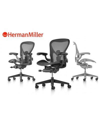 Herman Miller Aeron Remastered - Talla B - Graphite