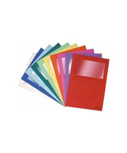 Subcarpetas ventana rojo- EXACLAIR - 50255E