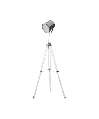 Lámpara lectura Galileo Blanca y cromo