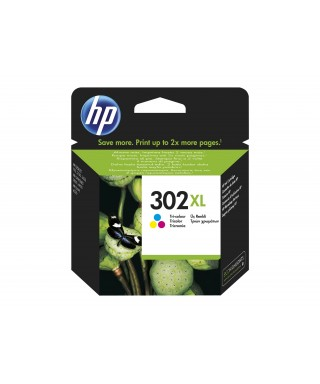 Cartucho tinta color 302xl- HP - F6U67AE