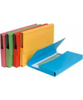 Subcarpetas bolsa verde- EXACLAIR - 47973E