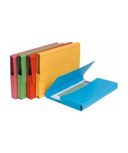 Subcarpetas bolsa amarillas- EXACLAIR - 47979E