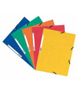 Carpeta gomas solapas color azul EXACLAIR