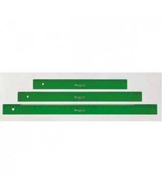 Regla verde graduada 30 cm- FABER CASTELL - 813