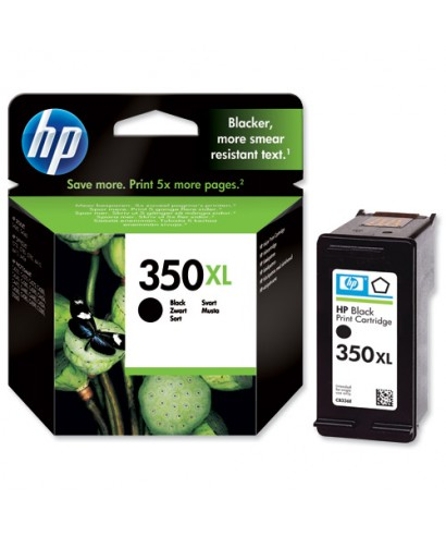 Cartucho HP, 350 XL NEGRO