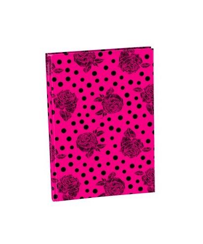 Cuaderno tapa dura A5 72h liso