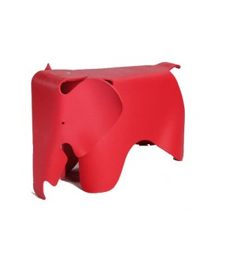 Silla infantil elefante rojo