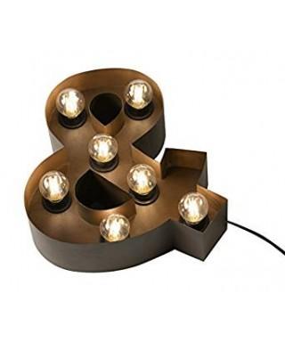 Lámpara símbolo &