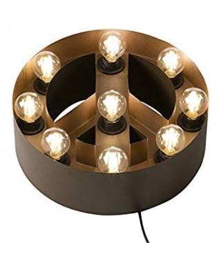 Lámpara simbolo de la paz
