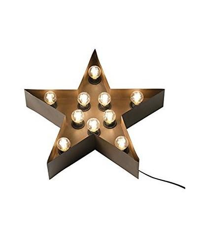 Lámpara conforma de estrella