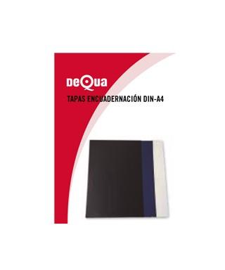 Tapas para encuadernación DeQua Azul opaco