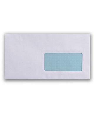 Caja 500 sobres con ventana derecha 115x225