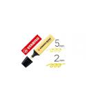 Marcador fluorescente amarillo, STABILO