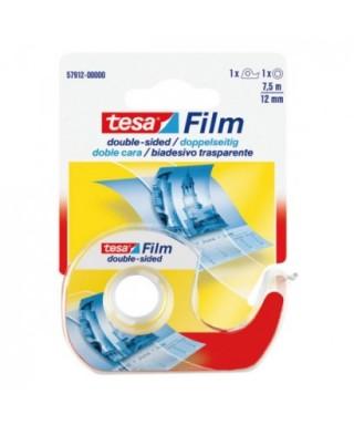Rollo cinta adhesiva doble cara 7,5mm x12m- TESA