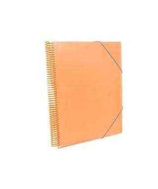 Carpeta maxiplas fundas 50 fundas naranja