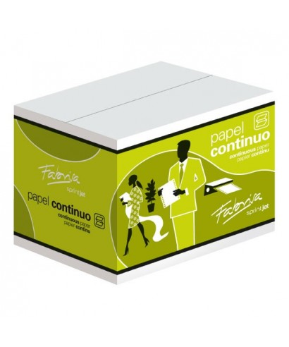 Papel continuo 240x11 pulgadas blanco- RUIFERPA - 1124B1