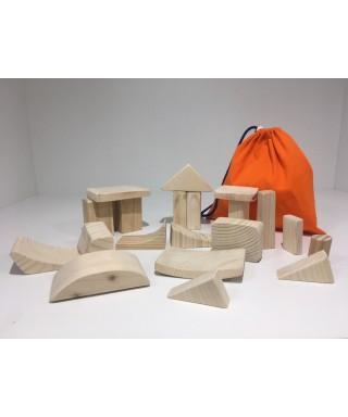 Bloques construcción - CERA DE COLORES