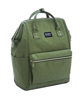 Mochila/bolso verde Tandem World