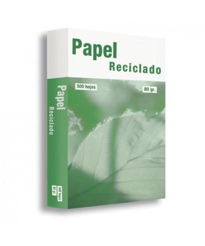 Papel reciclado A4 - 80grs – VENUSGREEN - Paquete de 500 hojas.