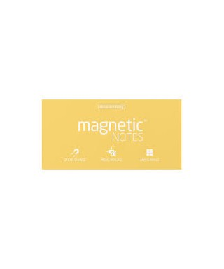 100 Magnetic Note L 200x100mm Sunshine