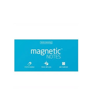100 Magnetic Note L 200x100mm Azul