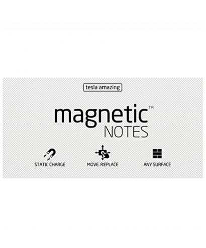 100 Magnetic Note L 200x100mm Blanco