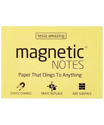 100 Magnetic Note L 200x100mm Amarillo
